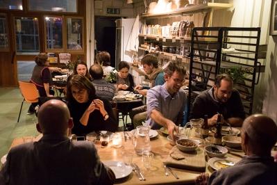 supper club guests