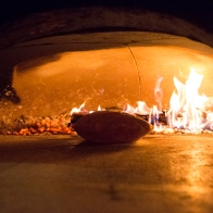 wood fired flat bread