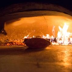 wood fired flat bread