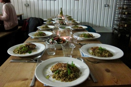 Syrian Supper Club February photo by Tan Morgul