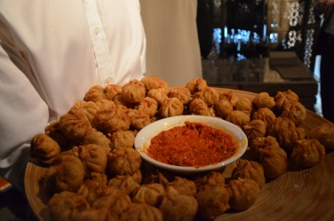 Nepalese Momos by @yakbites at Secret Supper Club @carouselspaces with Oxfam