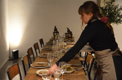 Secret Supper Club @carouselspaces with Oxfam