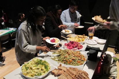 University of the Arts London Buffet Catering
