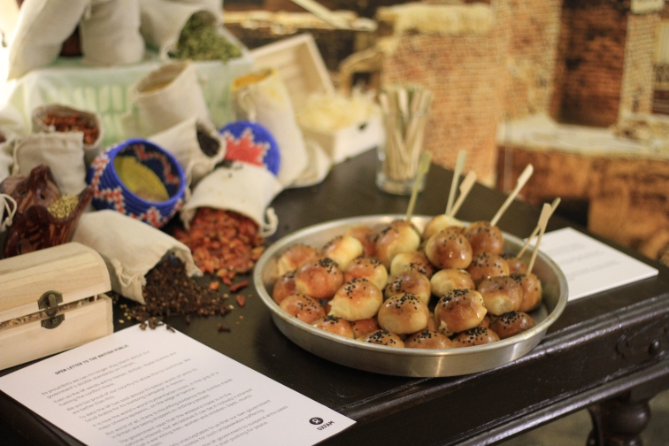 Yemeni bread at Carousel Spaces Photo by Begum Zorlu