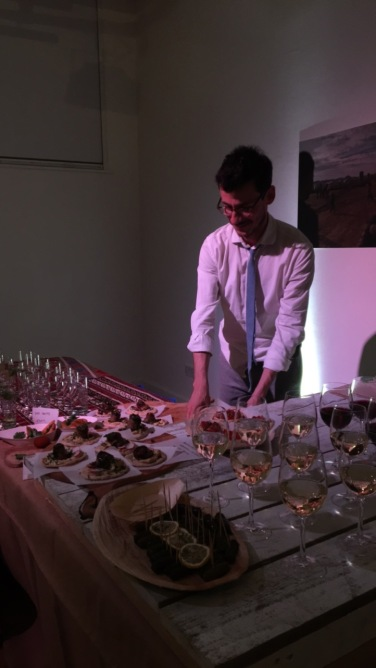 Wine and Food Buffet