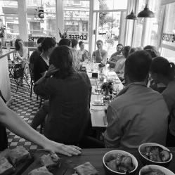 Bernstein's - food and sustainability talk